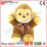 Brinquedo macio do macaco do animal enchido do luxuoso de ASTM para miúdos/crianças