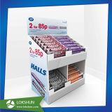 Farbige Pappspeicher-Fußboden-Bildschirmanzeige, Ladeplatten-Fußboden-Bildschirmanzeige