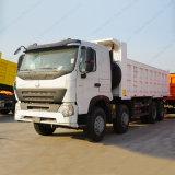 Sinotruk HOWO A7 8X4 광업 팁 주는 사람 트럭 덤프 트럭
