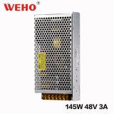 Bloc d'alimentation à sortie unique de C.C de Weho 145W 48V