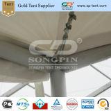 tenda superiore del baldacchino di tensionamento del PVC di abitudine di 5X5m singola con la stampa di marchio
