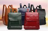 Мешок Backpack школы Backpack PU женщин кожаный