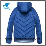 Куртка скалозуба девушки проложенная зимой с отражательными нашивками