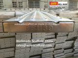 BS1139 Plank/het Dek/de Raad van het Metaal van het Werkende Platform van de steiger de Staal Gegalvaniseerde