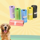 Qualitätseinzelner Farbe PET Hundepoop-Abfall-Beutel, Hundezusatzgerät