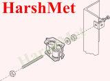 """304 Adapter van de Hoek van het roestvrij staal de Mini voor de Hangers van de Vlinder en de Blokken van de Steun van de Kabel, 3/8 """" Adapter van de Hoek"""