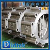 Didtek API 6D de alta presión Wcb Espolón doble válvula de retención de la oblea