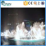 Fontaine musicale changeante de danse d'éclairage LED de couleur d'usine de Fenlin