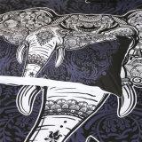 Elefant-Drucken-Bettwäsche-gesetztes Polyester