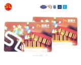 Kundenspezifische Plastik-RFID Hotel-Schlüsselkarte für einen Zeit-Gebrauch (freie Probe)