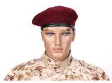 Haut de la qualité 100% laine bérets militaire des Forces spéciales de caps bonnets de laine de l'Armée de mens Outdoor soldat de la formation militaire Boinas respirant