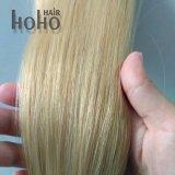 De blonde Uitbreiding van het Menselijke Haar van Remy van het Uiteinde van U van 20 Duim Braziliaanse