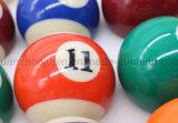 Sfera di biliardo americana dello snooker della resina di alta qualità dell'OEM