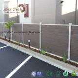 Загородка границы сада WPC Cpmposite деревянная декоративная