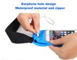 Paquet portatif de taille de sport en plein air de logo d'OEM/sac avec l'écran tactile