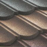 Тип плитки гонта крыши естественного камня Coated стальные
