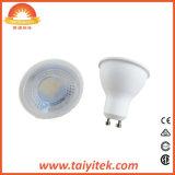 Remplacement froid économiseur d'énergie du blanc 50W de l'ampoule GU10 6W 6000K d'éclairage LED pour l'ampoule d'halogène avec le projecteur superbe de l'éclat DEL de garantie de 2 ans pour l'éclairage à la maison