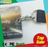 다채로운 방아끈을%s 가진 주문 인쇄 T5577 RFID PVC ID 카드