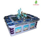 Máquina de juego de fichas de la pesca de la arcada del cazador de los pescados de la huelga del leopardo