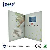 Cartão video da promoção do produto do LCD de 28 polegadas com 128MB 300mA