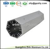 Tira personalizada de fábrica de perfil de aluminio con ISO9001