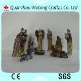 Natividad de interior 10/S determinado de las estatuillas de la Navidad de la resina del arte de Decoraiton de la alta calidad