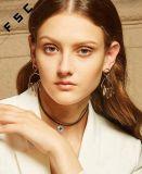 La plus défunte mode conçoit des boucles d'oreille de paume de modèle neuf de bijou