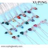 Necklace-00472 Xuping Halsketten-nachgemachte köstliche Schmucksache-China-Kristalle von Swarovski