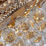 Ventilatore di soffitto interno decorativo di cristallo dei 2018 lussi con illuminazione