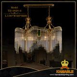 Kristalldekoration-Ausgangsmessingwand-Lampe (TB-0929-2)