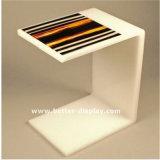 주문 현대 명확한 아크릴 커피용 탁자