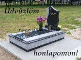 Pietra tombale rossa/nera del granito dei monumenti poco costosi con buona qualità