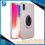 für iPhone 6 Plusfall für iPhone X Fall, Normallacke TPU PC Ring-Standplatz-Telefon-Zubehör-Telefon-Kasten