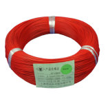 Af200 0,2mm orange haute température En Téflon FEP fils de cuivre argenté