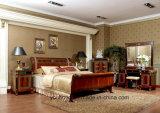 Кровать твердой древесины бука типа Европ классическая