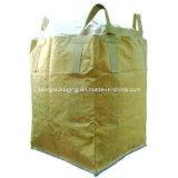Grand sac tissé par pp circulaire avec les boucles faisantes le coin en travers