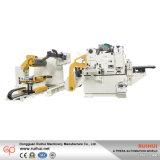 Alimentador ahorrador de trabajo 3 de Decoiler de la máquina que aplana que introduce en 1 alimentador de la enderezadora del Nc (MAC4-1000)