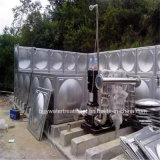 10000 de Tank van de Opslag van het Water van het Roestvrij staal van de gallon