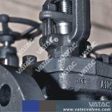 Getto e valvola a saracinesca sigillata muggito d'acciaio forgiata con il funzionamento manuale