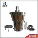 De Distillateur van de olie door de Machine van de Verwerking van de Essentiële Olie van de Gember van de Bloem