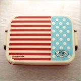Contenitore di alimento di plastica della casella di pranzo di Bento con divisione 20103