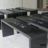 Tabela de superfície contínua artificial personalizada da mobília da barra