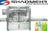 Máquina de rellenar del zumo de fruta de la bebida