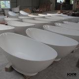 Vasche di bagno indipendenti del bambino di pietra artificiale di rettangolo