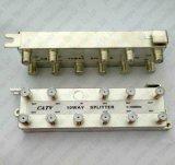 De Splitser van het Signaal van kabeltelevisie van de Splitser van de Manier van de Splitser 5-1000MHz 10 van rf CATV