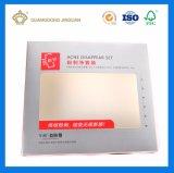 Caja de cartón Impresión a todo color con las ventanas de PVC