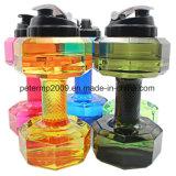 Творческие гантель тренажерный зал большого объема спорта чайник пластиковый пространства бутылка воды