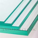 Низкое утюг/Ultra Clear закаленного матового стекла для дверей