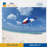 2.アーク40′ ′ 亜鉛合金の傾きの高品質のビーチパラソル