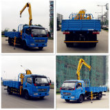 Dongfeng 4*2 공중 플래트홈 트럭 4*2 전기 플래트홈 트럭